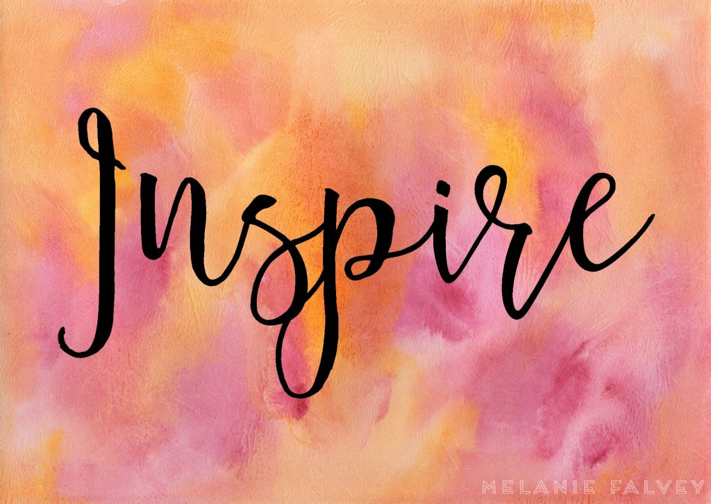 Image of the word Inspire